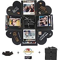 Hbsite DIY Explosion Surprise Box DIY Handmade Photo Love Memory Scrapbooking Caja de Regalo para Navidad Cumpleaños…