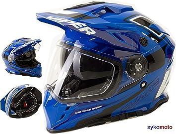 Viper Moto VIPER RX-V288 MOTOCROSS ECE HOMOLOGADO INTEGRAL ADULTOS QUAD ATV CASCO DE MOTO