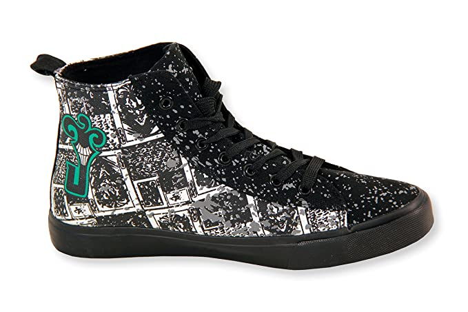1f2f120b028f DC Comics The Joker High Top Sneakers  Amazon.co.uk  Clothing