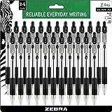Zebra Ballpoint Retractable Pens (ZEB12221)