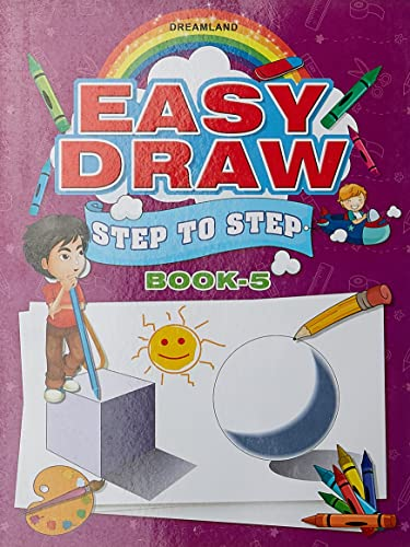 Easy Draw ...Step by Step Book - 5