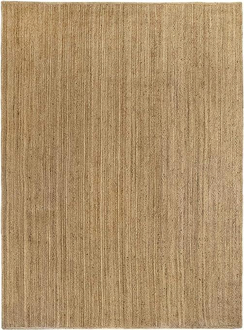 HAMID Alfombra Yute Alhambra Color Natural - Alfombra 100% Fibra ...