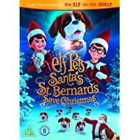 Elf Pets: Santas St Bernards Save Christmas (including storybook) [DVD] [2018]