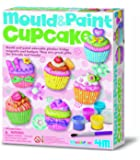 4M - 68383 - Jeu De Travail - Mould & Paint - Cupcake