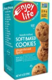 Enjoy Life Soft Baked Cookies, Gluten-Free, Dairy-Free, Nut-Free and Soy-Free, Gingerbread Spice, 6 Ounce Box