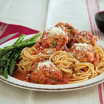 Albóndigas turcas italianas con espaguetis con ...