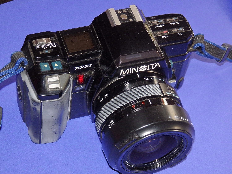 Seltene SLR Camera Minolta 7000 – Cámara réflex analógica – SLR ...