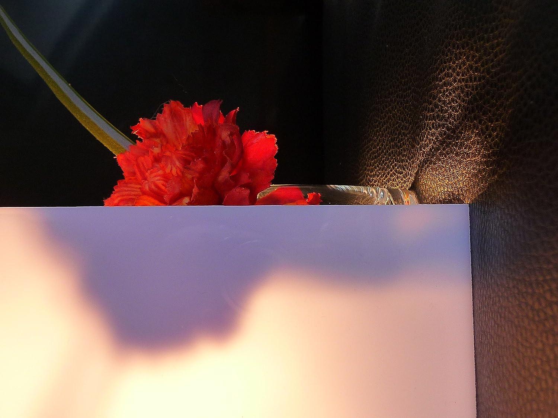 solid polycarbonate sheet, 1000 x 600 x 2 mm Plate white opal plate 30% light transmission alt-intech PC/PMMA Sheet