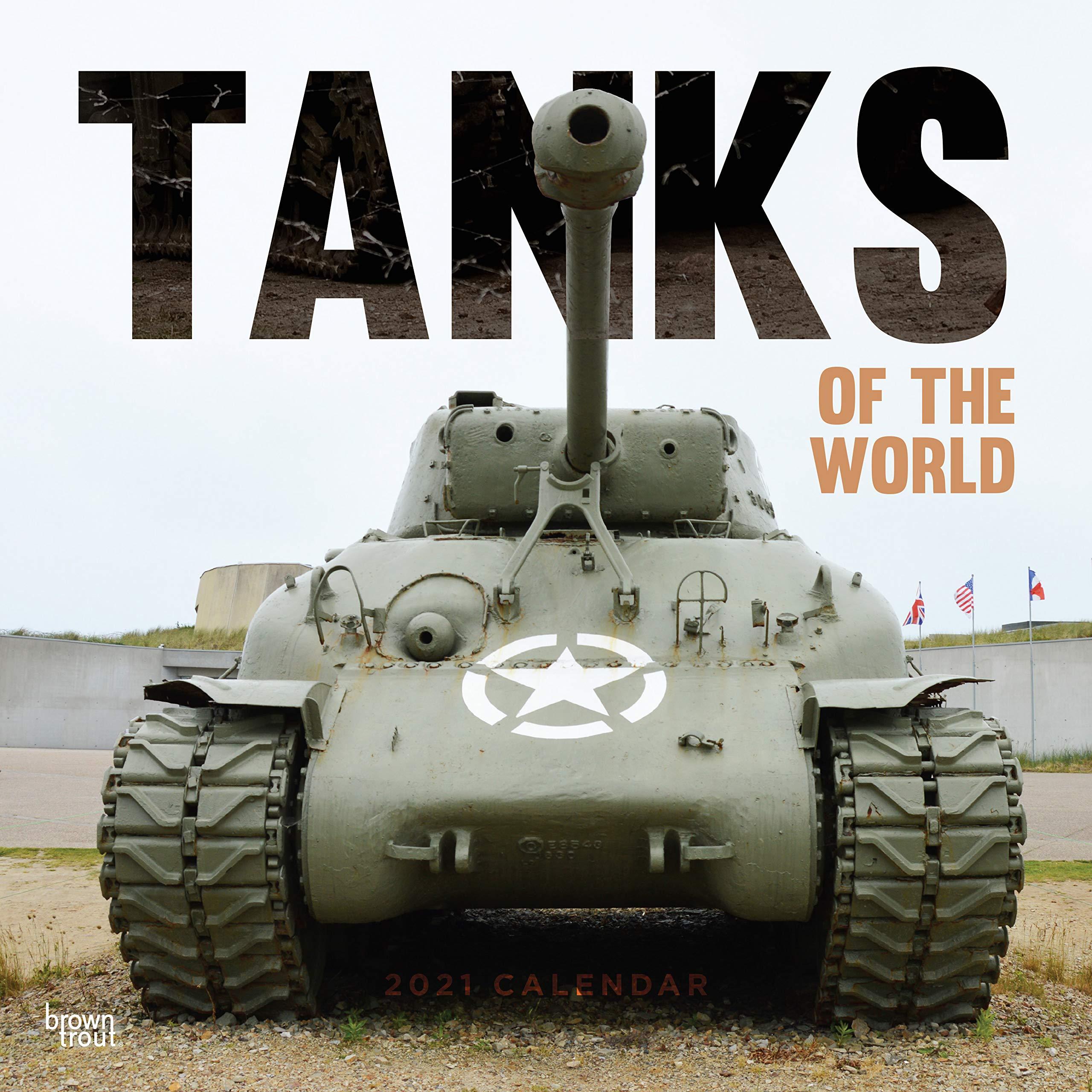 World Of Tanks Calendar 2021 Tanks of the World 2021 Square Wall Calendar: Amazon.co.uk