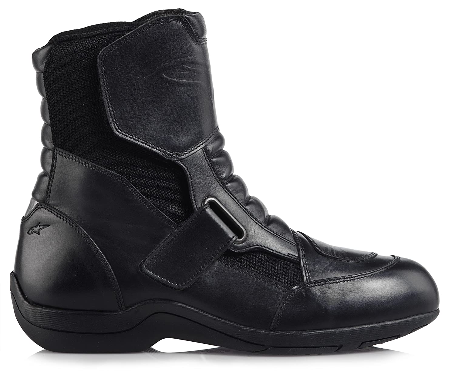 Black, EU Size 44 Alpinestars Ridge Waterproof Mens Street Motorcycle Boots