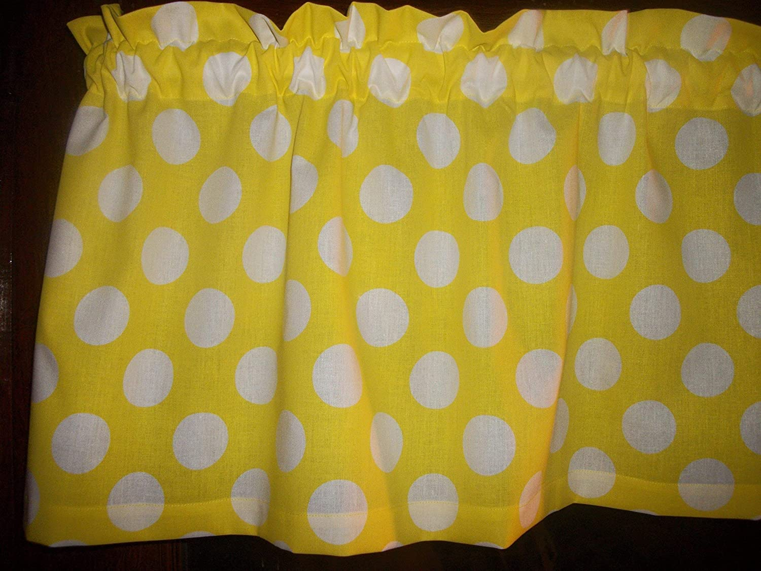 Amazon Com Yellow White Large Polka Dot Minnie Mickey Mouse
