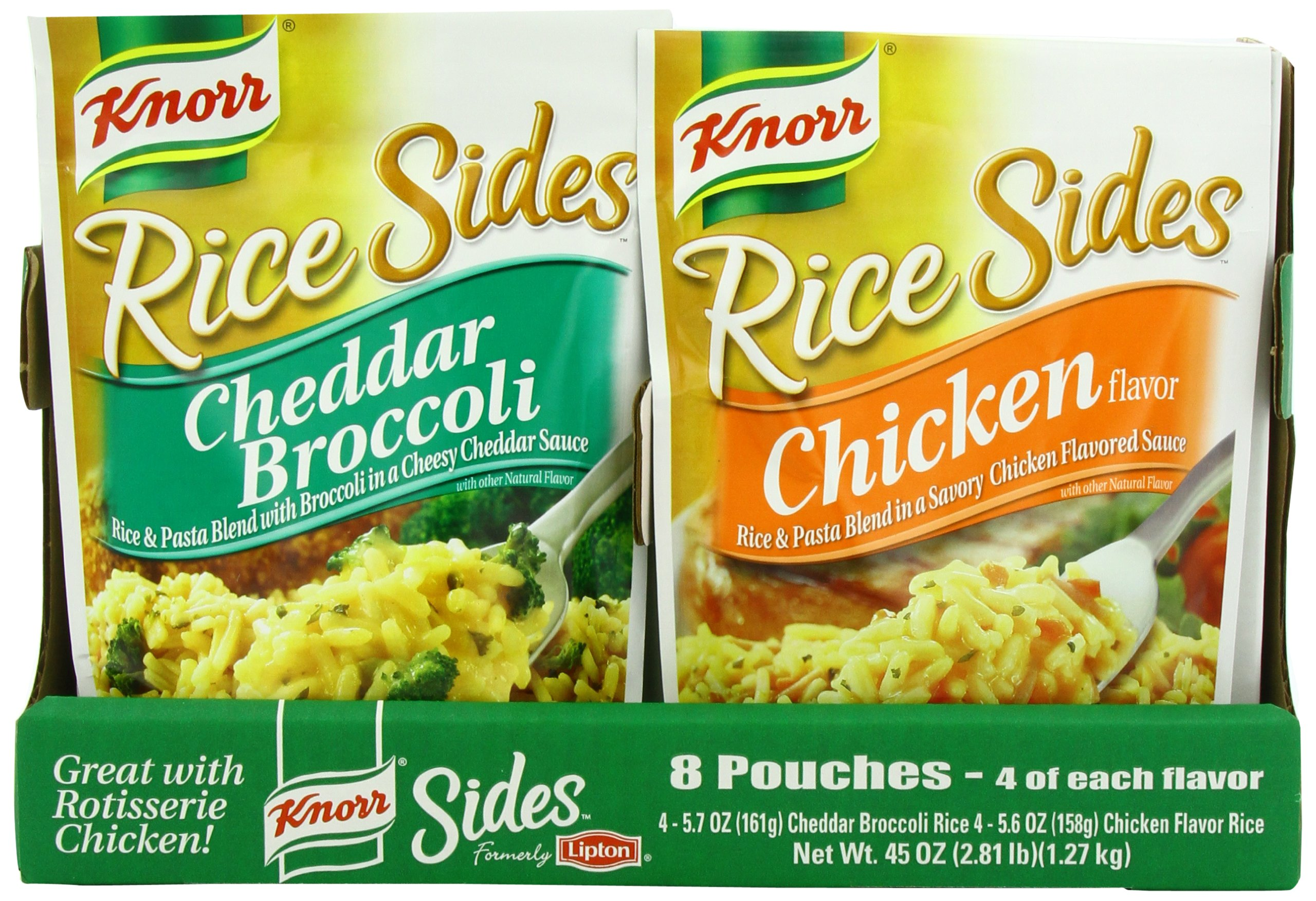 Amazon Com Knorr Rice Sides Flavor 5 6oz Pouch Pack