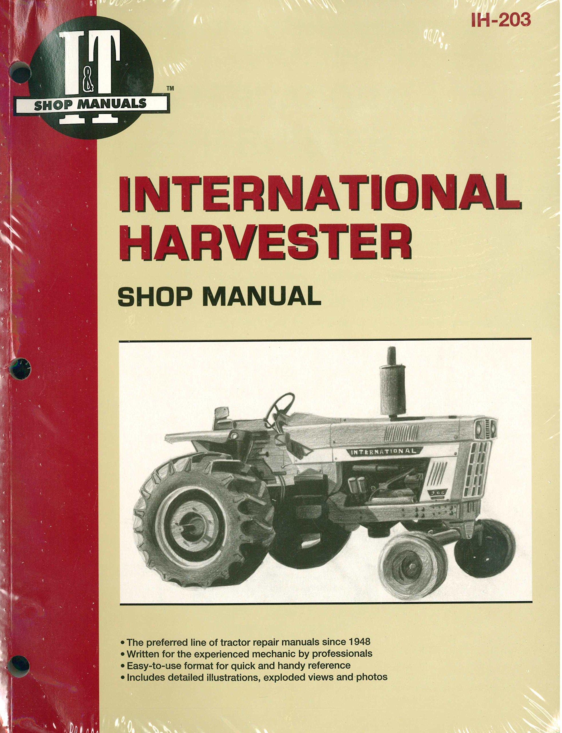 IH-203 International Harvester Tractor Service Manual 454 464 484 574 584  674 766 786 826 886 966 986 1026 1066 1086: Manufacturer: Amazon.com: Books