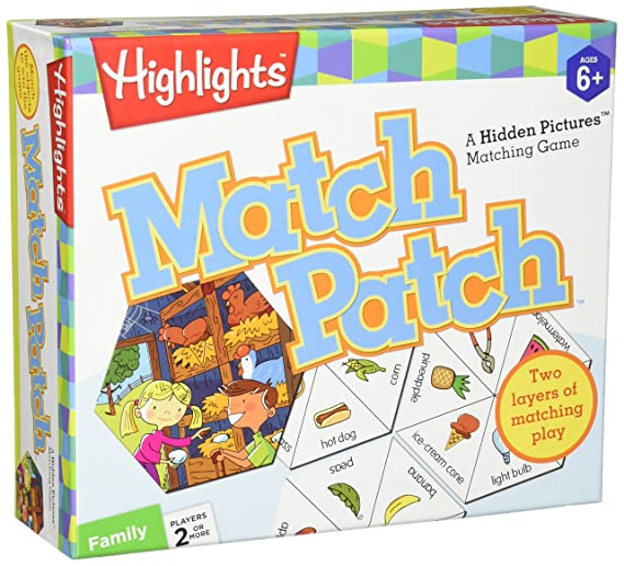 Amazon Com Masterpieces Highlights Match Patch Game Toys Games