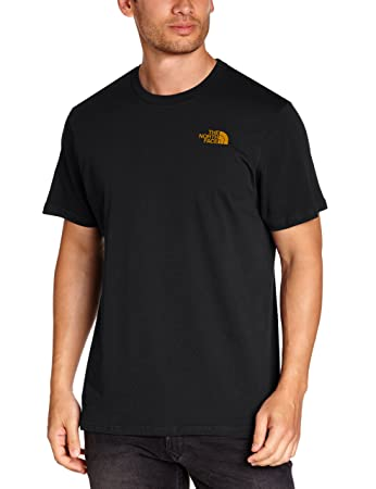 The North Face Men's Short Sleeve Simple Dome T-Shirt - TNF Black, Small