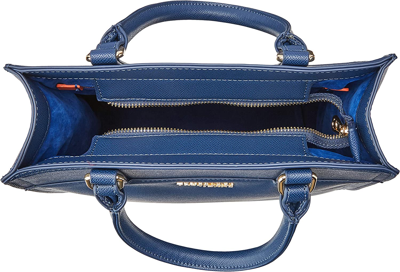Trussardi Jeans T-Easy Light Tote, Borsa Donna, 31x30x12 cm (W x H x L) Blu (Dark Blue)