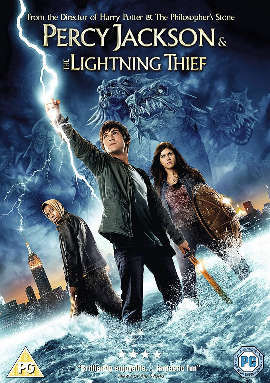 percy jackson the lightning thief dvd amazon co uk logan