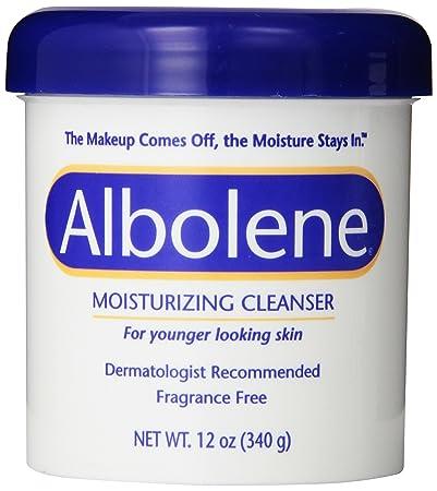 Albolene Moisturizing Cleanser, 12oz ( 2pack) Dermafine-MD Anti-Aging/Wrinkle Cream Age Spots & Stretch Mark 6 oz
