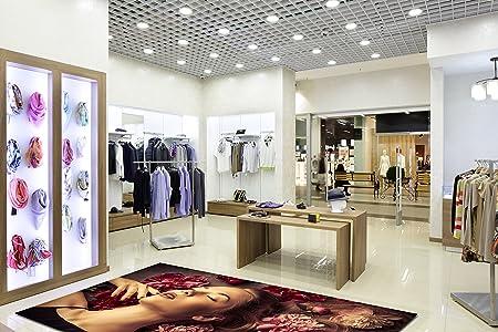 3d Decor Floor Vinyl Pvc Flooring Accessoires Clothes Fashion Shop