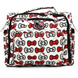 Ju-Ju-Be Hello Kitty Collection B.F.F. Convertible Diaper Bag, Peek A Bow