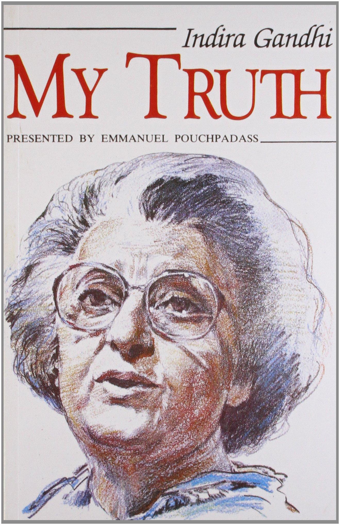 My truth indira gandhi 9788170944683 amazon books nvjuhfo Image collections