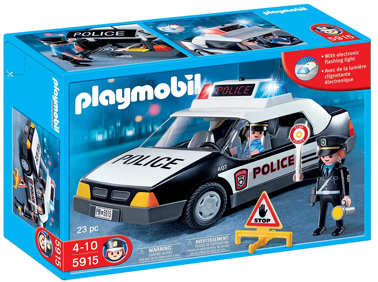 playmobil police car amazoncouk toys games - Playmobile Police