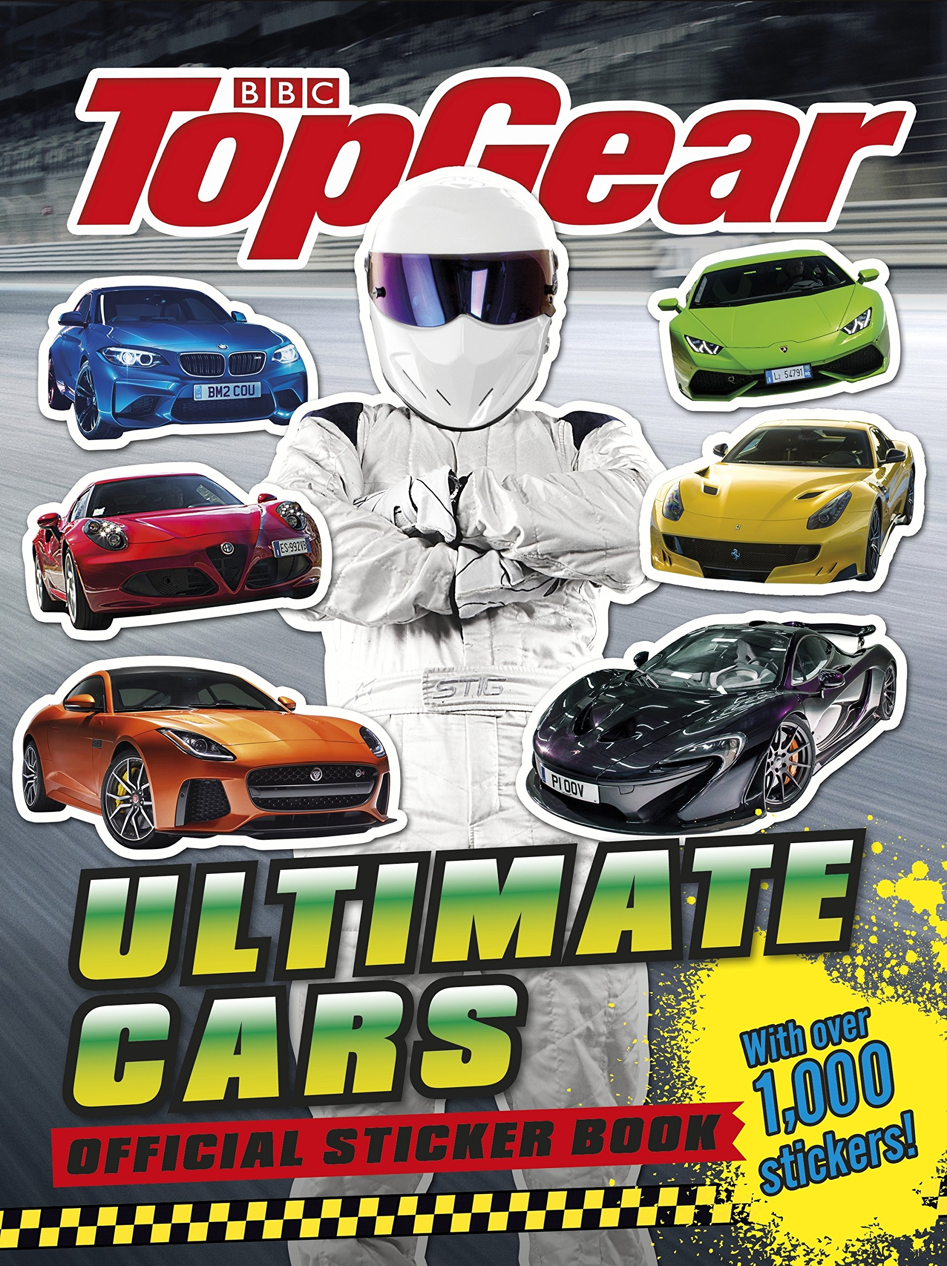 Amazon fr top gear ultimate cars official sticker book livres