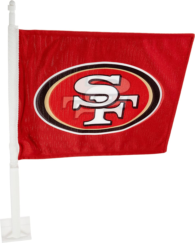 Fremont Die NFL Home & Away Car Flag, 11.5