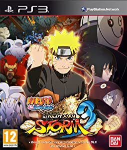 Naruto Shippuden Ultimate Ninja Storm 3 Sony Playstation PS3 Game