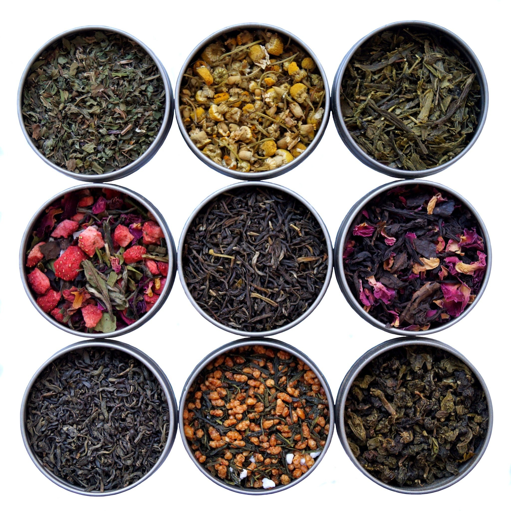 Heavenly Tea Leaves Tea Sampler (9 Flavor Variety Pack) by Heavenly Tea Leaves