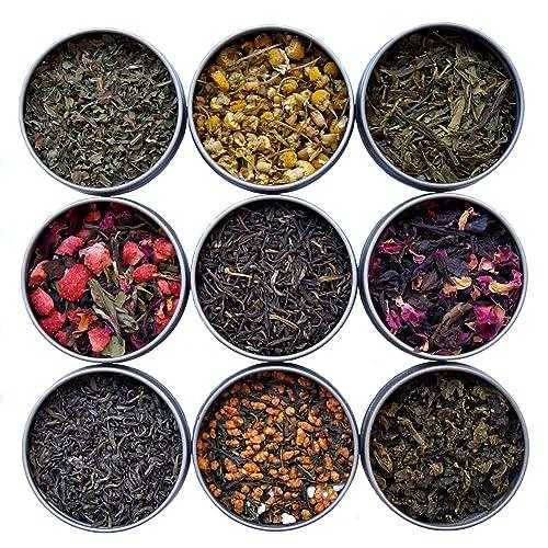 Próbnik Herbaty Niebiańskiej Liście Herbaty Luźno Liściowej