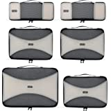 PRO Packing Cubes - 6 Set - Ultimate Travel Packing Cube Sys