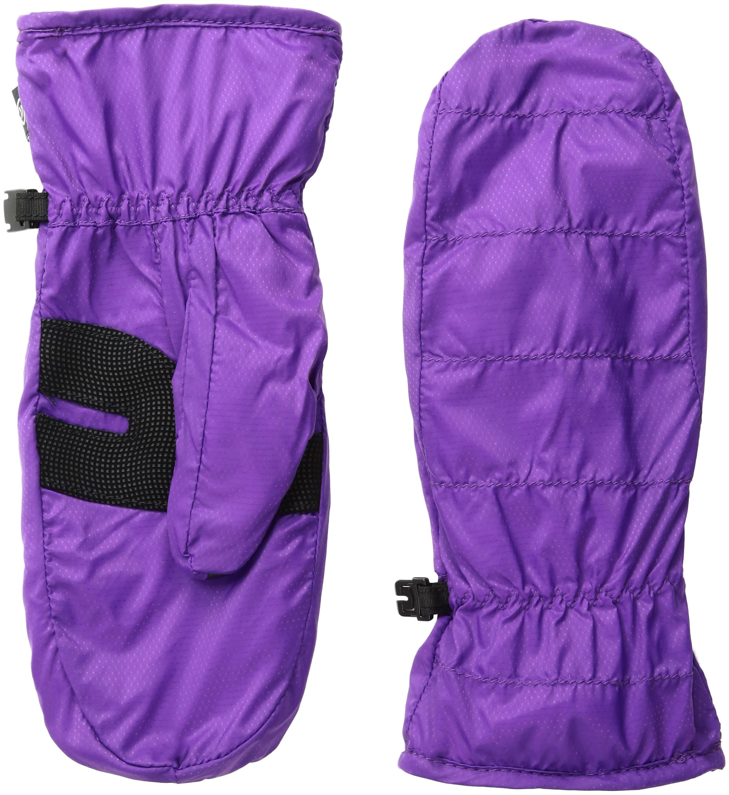 Isotoner Women's smarTouch Packable Mittens with smartDRI, Concord Grape, Medium