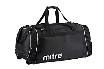 3d234c5caf54 Mitre Corre Wheeled Sports Bag - Black  Amazon.co.uk  Sports   Outdoors