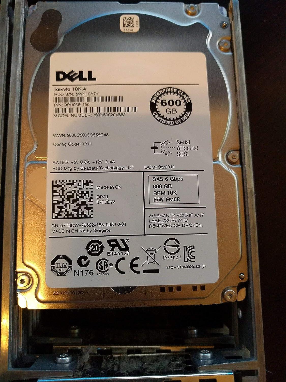 Dell 7T0DW 600GB 10K SAS 2.5 6G ST9600204SS