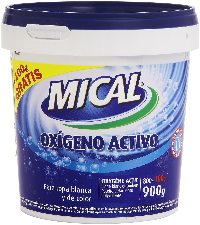 Mical - Oxígeno activo - Para ropa blanca y de color - 900 g ...