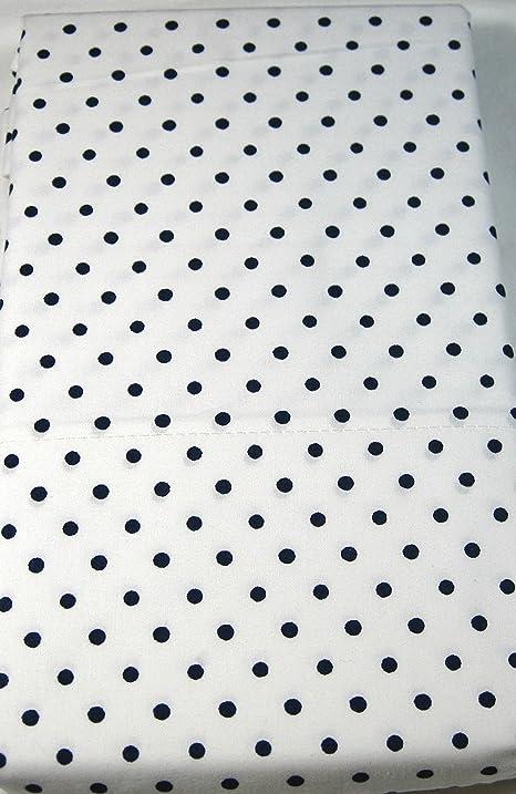 Polka Dot Pillowcases Amazing Amazon Lauren King Polka Dot Pillowcases Set Of 60 WhiteNavy