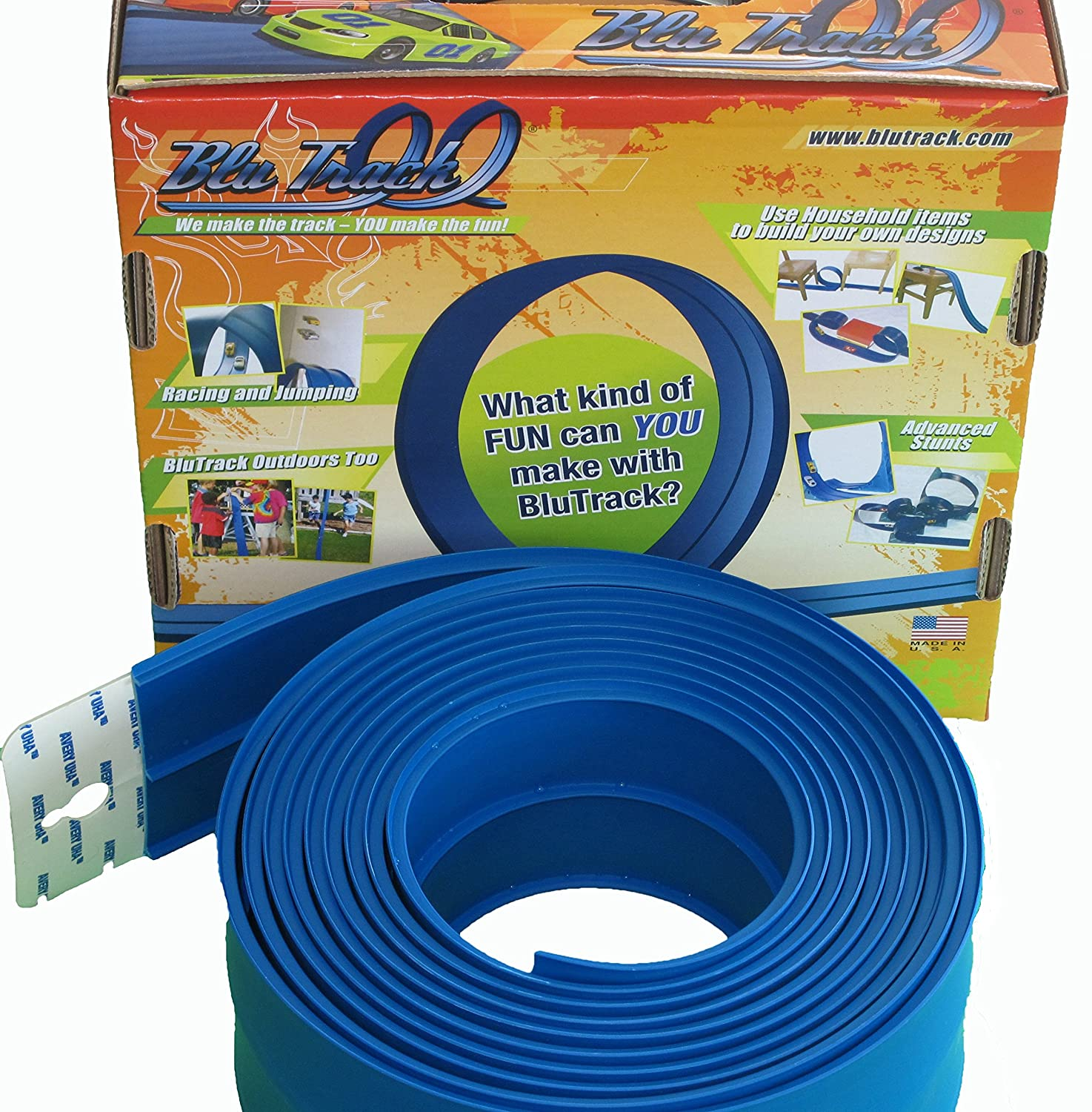 Blutrack 25 Track Set Toys Games Advanced Race Car Wiring