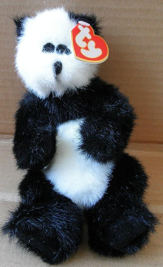 Amazon Com Ty Attic Treasure Collection Checkers The Panda Bear