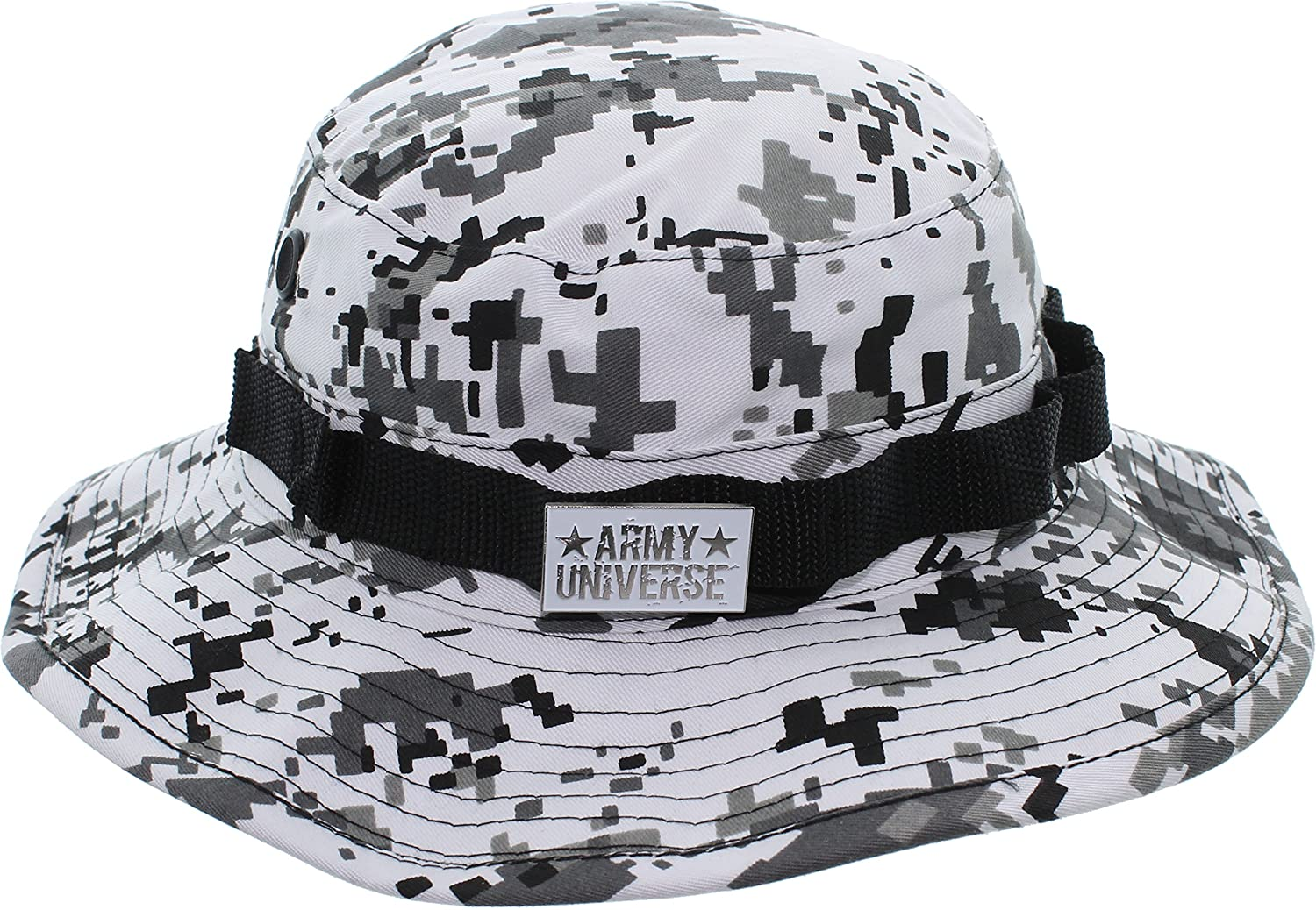 Army Universe Tactical Boonie Hat Military Camo Bucket Wide Brim Sun ... 1072f3eee34