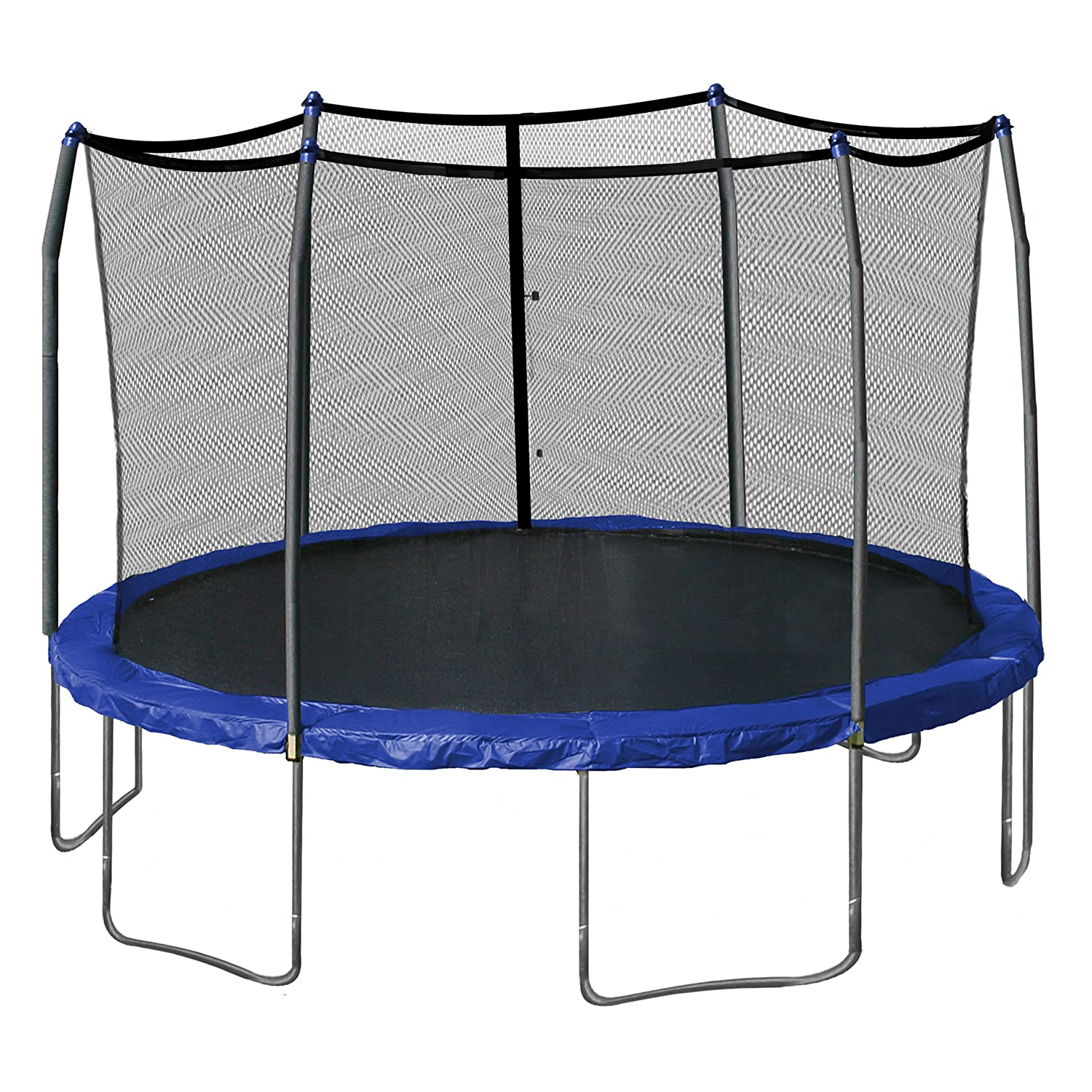 Kidwise Jumpfree 15 Ft Trampoline And Safety Enclosure: 50 Best And Safest Trampolines Of 2019: Guide & Reviews
