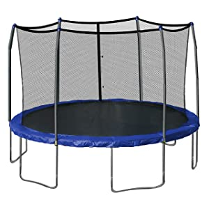 Skywalker Trampolines 15-Feet Trampoline Enclosure with Spring Pad