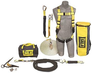 3M DBI-SALA Sayfline 7611907 kit de protección contra caídas de ...