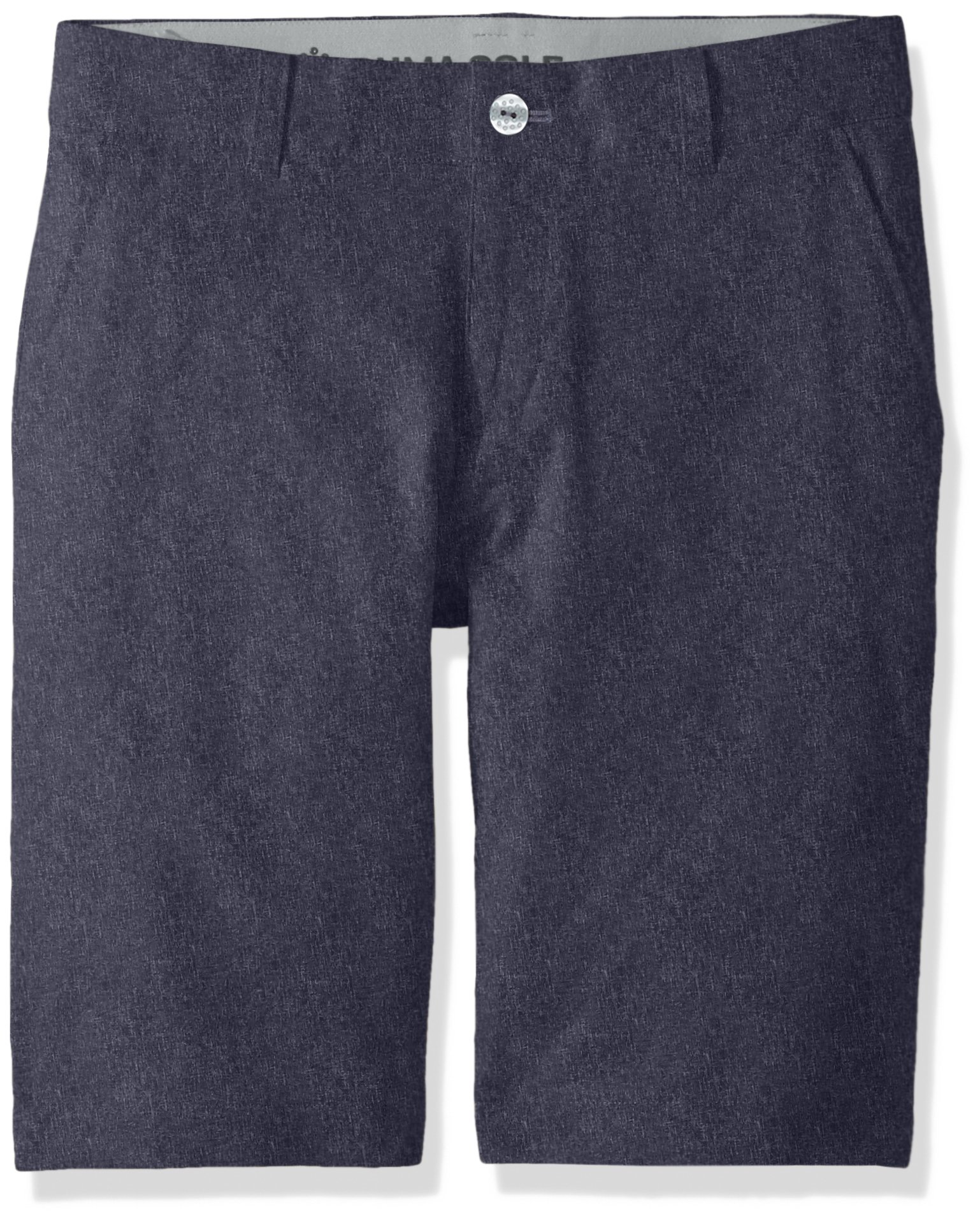 PUMA Golf Teen 2018 Boy's Heather Pounce Short, Peacoat, Large by PUMA