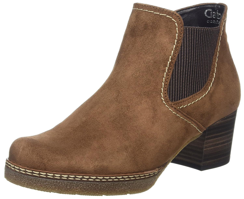 Gabor Damen Comfort Basic Stiefel  38.5 EU|Braun (34 Nut (Sn/Alma/Mi))