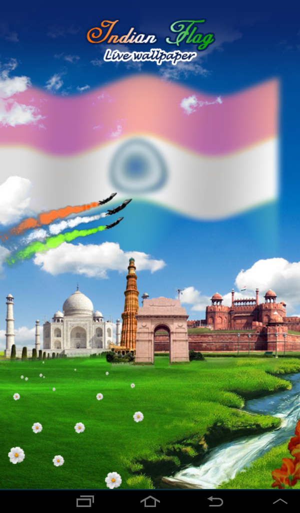 Indian Flag With Music Live Wp Amazoncomau Appstore For Android