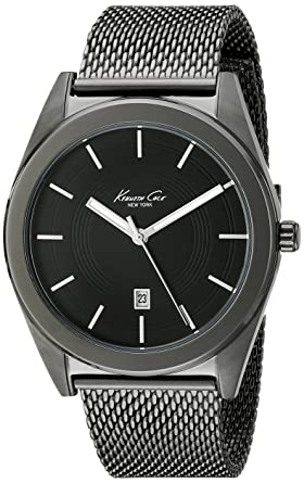 Kenneth Cole New York Mens KC9371 Classic Analog Display Analog Quartz Black Watch
