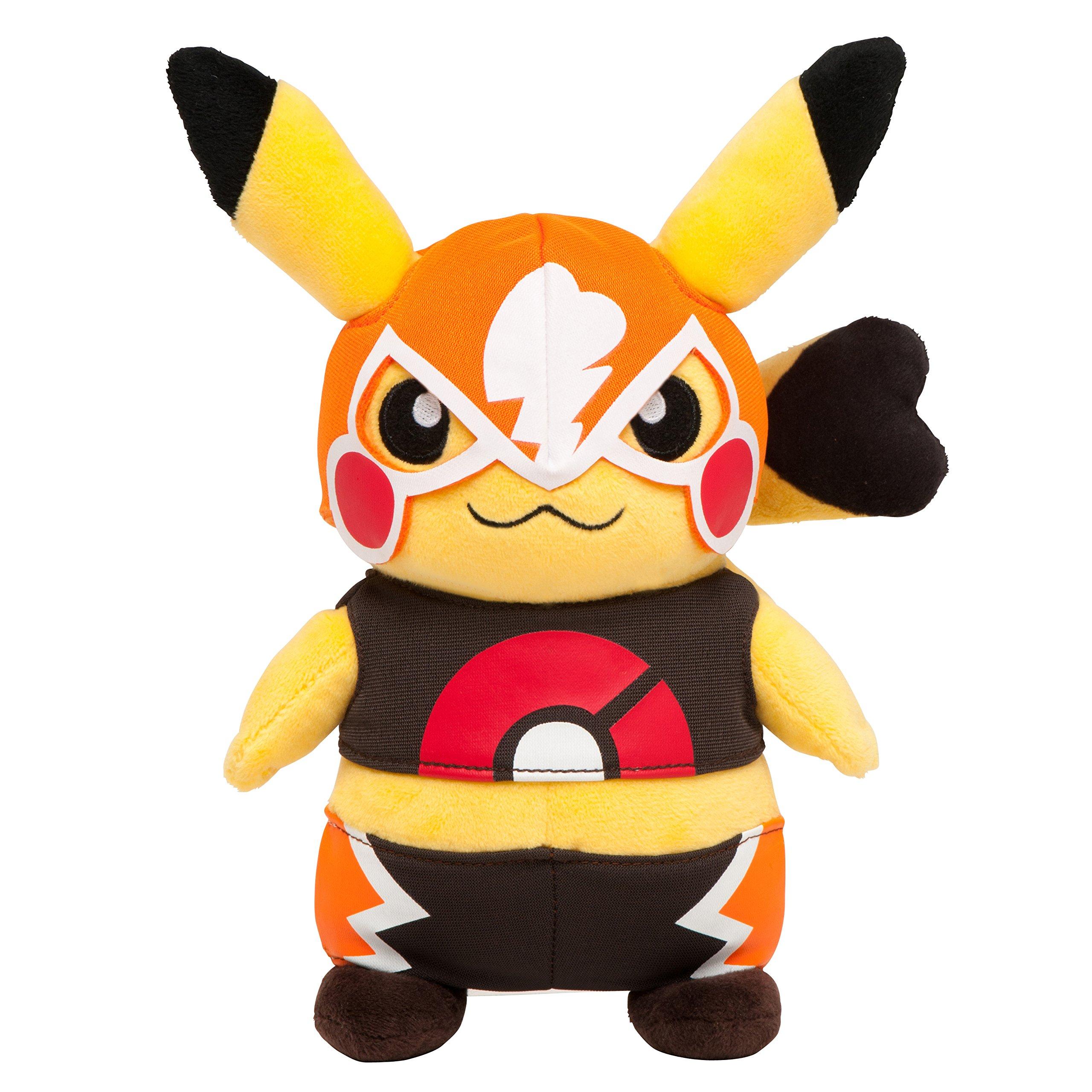 Pokemon Center Plush Doll Masked Pikachu OA Center by Pokemon