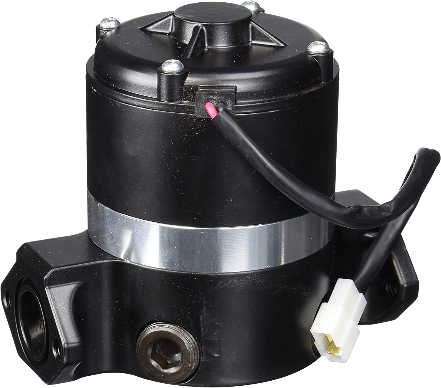Small Block Ford 289 302 351W Electric Water Pump Chrome High Volume Flow SBF