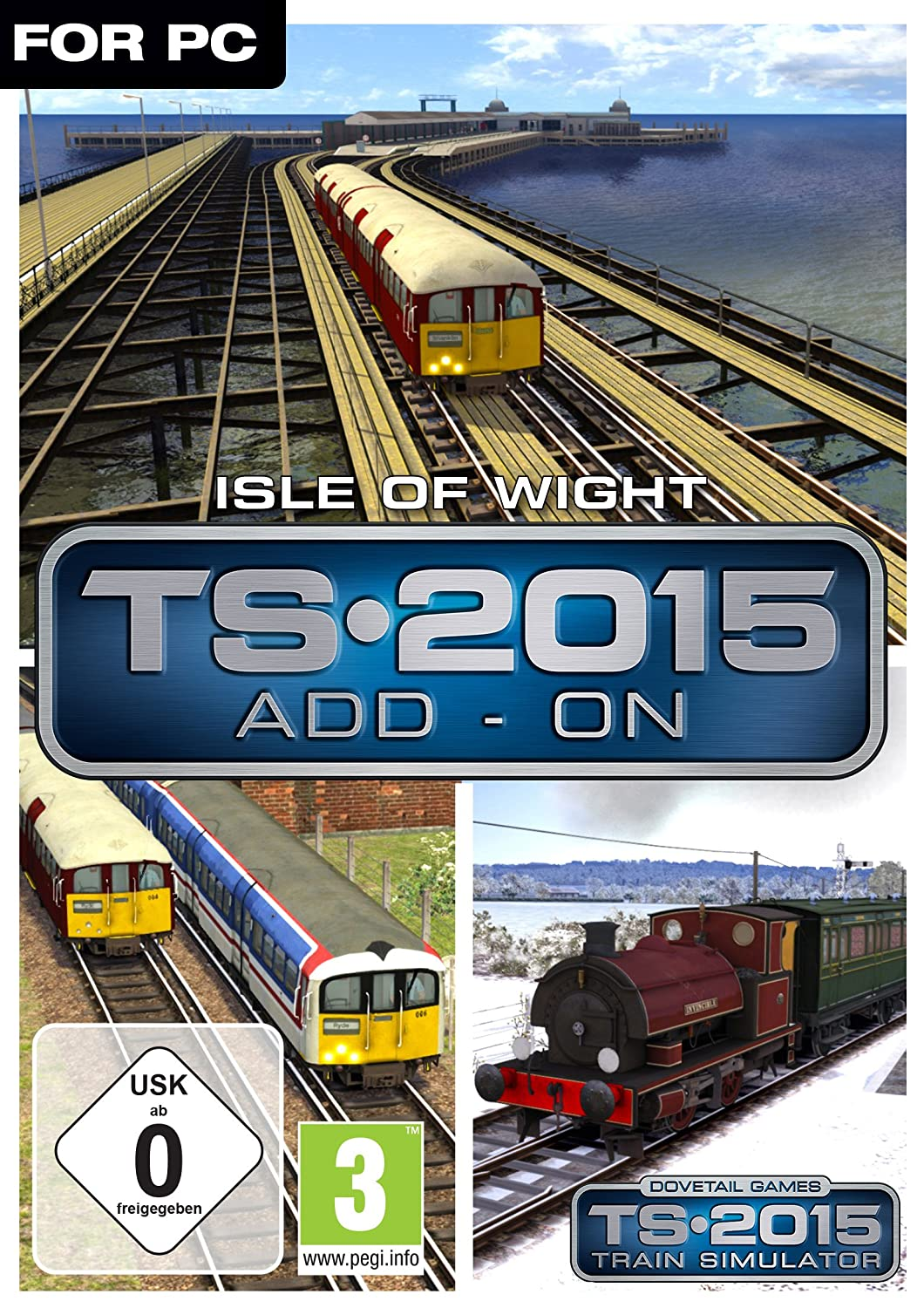 Train Simulator 2015 - Isle of Wight [PC Code - Steam]: Amazon.de: Games